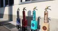 天ぷら油にも効く消火器